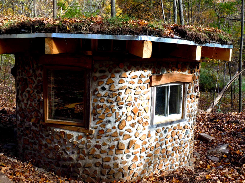 Cordwood Construction (and some straw bale too) - Rena ...