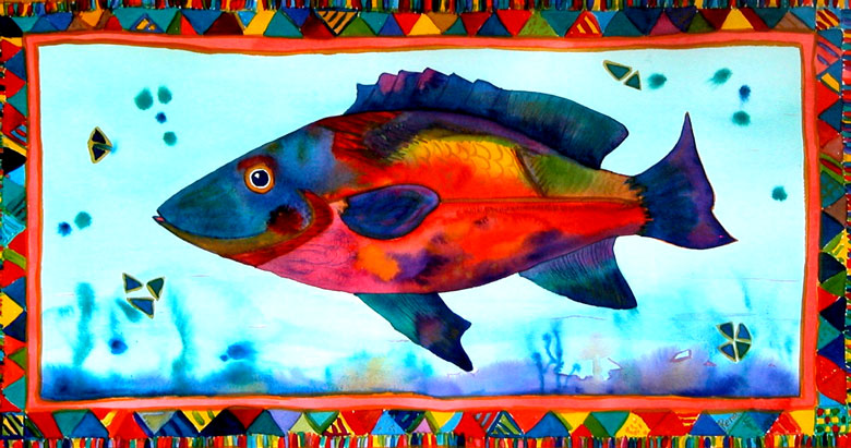 Fish - watercolours by Rena Upitis
