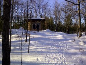 Hermit hut